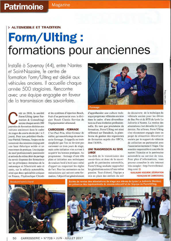 formulting article journal FFC formations pour anciennes